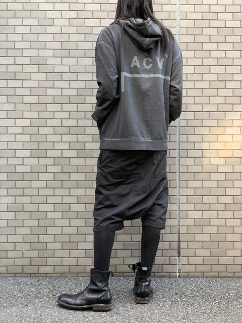 【A-COLD-WALL*】LOGO HOODIE STYLING